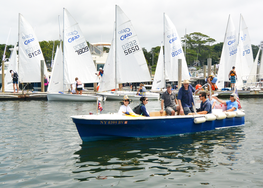 Racing at the Orient Yacht Club