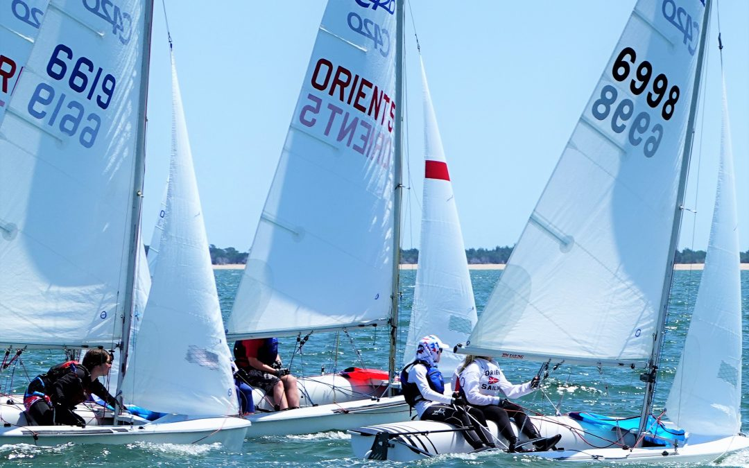 Second Jr Sailing Session Begins